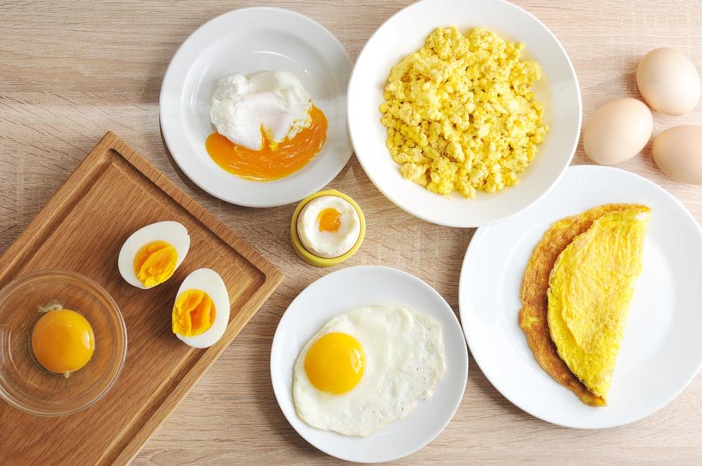 beneficios comer ovos