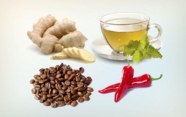 melhores alimentos termogenicos